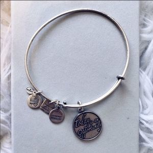"""Alex & Ani """"Today is an Opportunity"""" Bangle"""